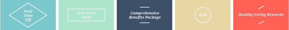 CAVA Benefits Package