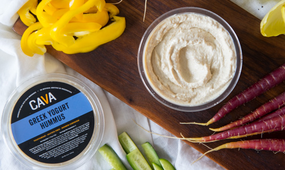 Greek Yogurt Hummus